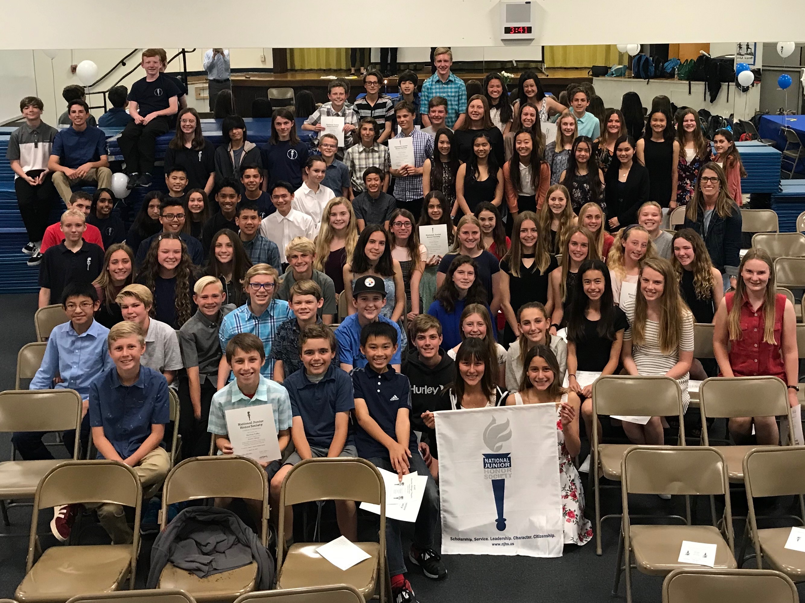 Congratulations to NJHS Newest Members!